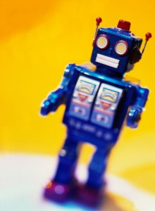 Battery Operated Toy Robot